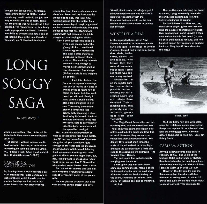 Long Soggy Saga