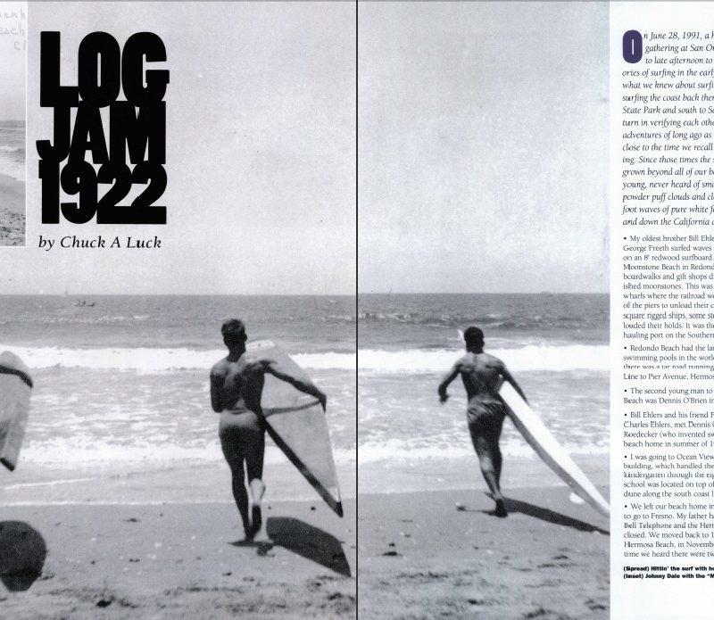 Log Jam 1922