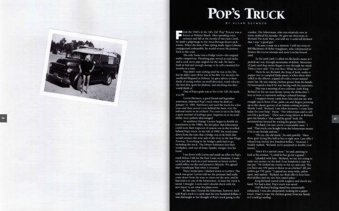 Pop's Truck