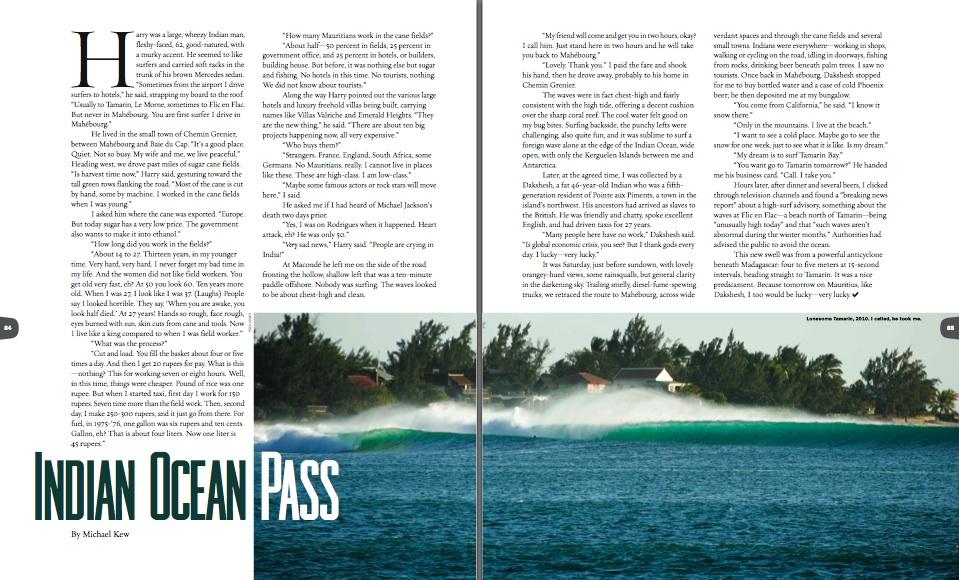 Indian Ocean Pass